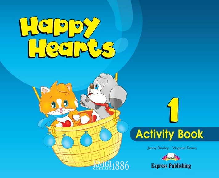 Рабочая тетрадь «Happy Hearts», уровень 1, Jenny Dooley | Exspress Publishing