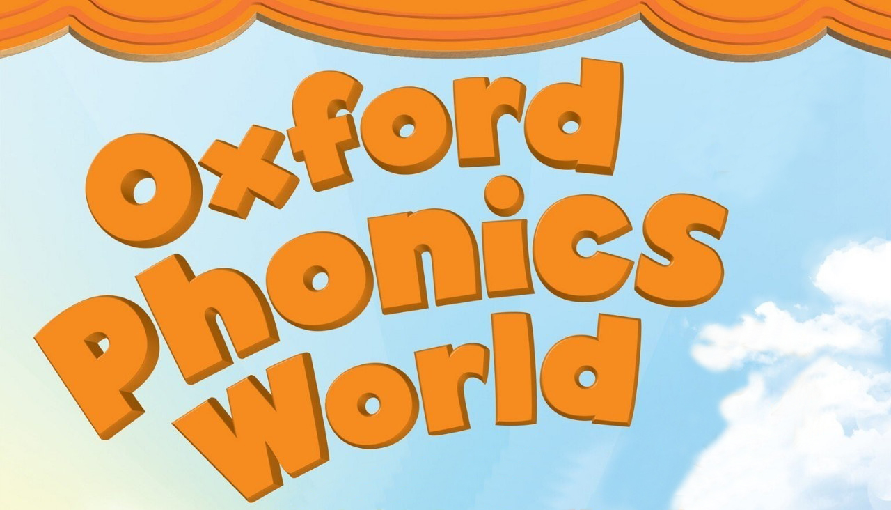 Oxford Phonics World Students Book + Workbook Level 1, 2, 3, 4, 5