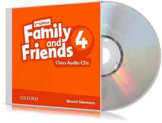 Аудио-диск Family and Friends 4 второе издание, Naomi Simmons | Oxford